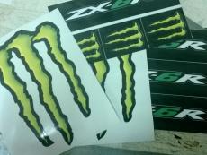 monster energe наклейки купить в Москве