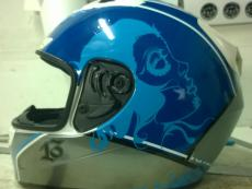 наклейки на шлем