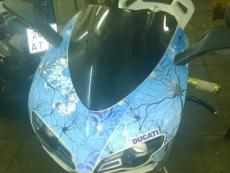 наклейки на мотоцикл ducati 848