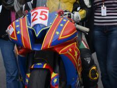 индивидуальный дизайн на мотоцикл