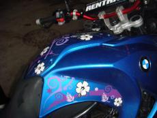 наклейка защитная на бак мотоцикла bmw