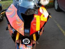 наклейки на мотоцикл bmw 1000rr