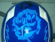 наклейки на мото шлем