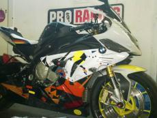 набор наклеек на мотоцикл bmw 1000 rr
